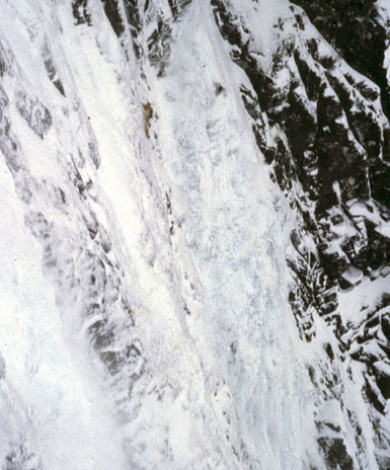"Zero Gully III-4+ ""Poor Conditions"", Ben Nevis, Higlands, Scotland"