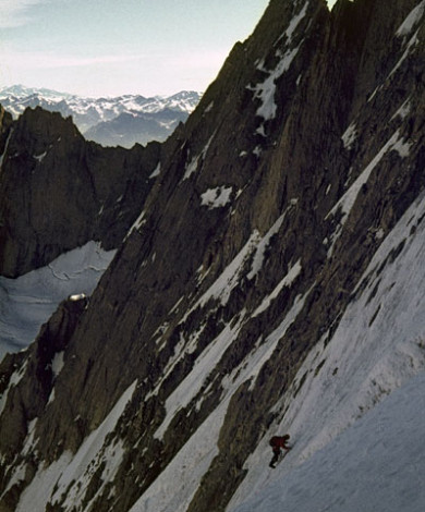 Nord Face, Aig Triolet, Chamonix, French Alps